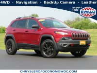 Certified, 2017 Jeep Cherokee Trailhawk, Red, C20J255A-1