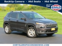 Certified, 2017 Jeep Cherokee Latitude, Gray, C20J276A-1