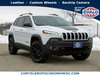 Used, 2017 Jeep Cherokee Trailhawk, White, CN1840-1