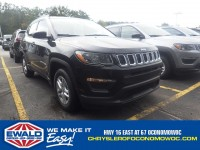 New, 2017 Jeep Compass Sport, Black, C17J237-1