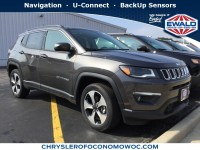 New, 2017 Jeep Compass Latitude, Gray, C17J261-1