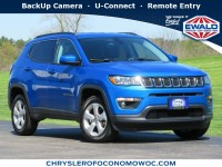 Certified, 2017 Jeep Compass Latitude, Blue, C20J178A-1