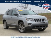 Certified, 2017 Jeep Compass Sport SE, Silver, CN1875-1