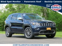 Certified, 2017 Jeep Grand Cherokee Limited, Blue, C20J219A-1