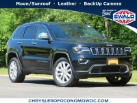 Certified, 2017 Jeep Grand Cherokee Limited, Black, CN1899-1