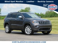 Certified, 2017 Jeep Grand Cherokee Limited, Gray, CN1905-1