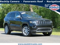 Certified, 2017 Jeep Grand Cherokee Limited, Black, CN1937-1