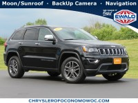 Certified, 2017 Jeep Grand Cherokee Limited, Black, CN1976-1