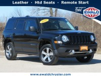 Certified, 2017 Jeep Patriot High Altitude 4x4, Black, CN2082-1
