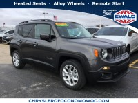 New, 2017 Jeep Renegade Latitude, Gray, C17J313-1