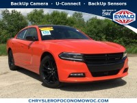 New, 2018 Dodge Charger SXT Plus, Orange, D18D77-1