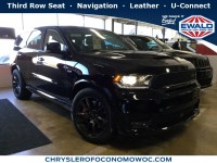 New, 2018 Dodge Durango SRT, Black, D18D191-1