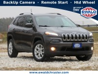 Certified, 2018 Jeep Cherokee Latitude Plus, Gray, C20J302A-1
