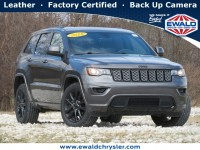 Certified, 2018 Jeep Grand Cherokee Altitude 4x4, Gray, CN2066-1