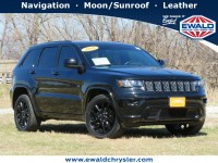 Certified, 2018 Jeep Grand Cherokee Altitude 4x4, Black, CN2104-1