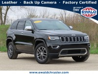 Certified, 2018 Jeep Grand Cherokee Limited 4x4, Black, CN2108-1