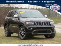 Certified, 2018 Jeep Grand Cherokee Limited 4x4, Black, CN2118-1