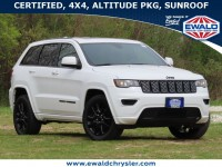Certified, 2018 Jeep Grand Cherokee Altitude 4x4, White, CN2124-1