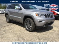 New, 2018 Jeep Grand Cherokee Limited, Silver, C18J247-1