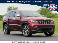 Certified, 2018 Jeep Grand Cherokee Limited, Red, CN1967-1