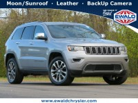 Certified, 2018 Jeep Grand Cherokee Limited, Silver, CN2000-1