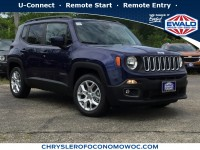 New, 2018 Jeep Renegade Latitude, Blue, C18J288-1