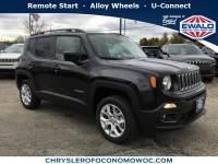 New, 2018 Jeep Renegade Latitude, Black, C18J406-1