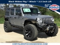 New, 2018 Jeep Wrangler Unlimited Sport S, Silver, C18J245-1
