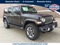 New, 2018 Jeep Wrangler Unlimited Sahara, Gray, C18J415-1