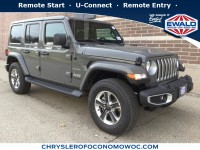 New, 2018 Jeep Wrangler Unlimited Sahara, Gray, C18J417-1