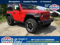 New, 2018 Jeep Wrangler Rubicon, Red, C18J373-1