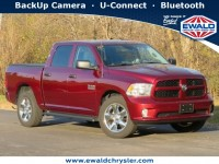 Certified, 2018 Ram 1500 Express, Red, CN2002A-1