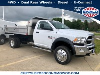 New, 2018 Ram 4500 Chassis Cab Tradesman, White, D18D400-1