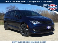 New, 2019 Chrysler Pacifica Touring Plus, Blue, C19D25-1