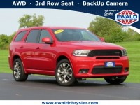 Certified, 2019 Dodge Durango GT Plus, Red, CN1948-1
