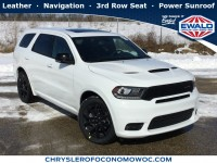 New, 2019 Dodge Durango R/T, White, D19D211-1