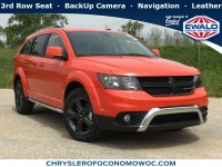 New, 2019 Dodge Journey Crossroad, Orange, D19D412-1