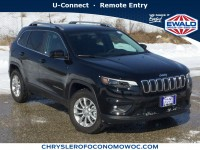 New, 2019 Jeep Cherokee Latitude, Black, C19J102-1