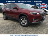 New, 2019 Jeep Cherokee Latitude Plus, White, C19J13-1