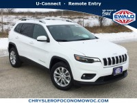 New, 2019 Jeep Cherokee Latitude, White, C19J157-1