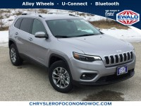 New, 2019 Jeep Cherokee Latitude Plus, Silver, C19J170-1
