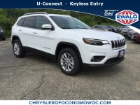 New, 2019 Jeep Cherokee Latitude, White, C19J21-1