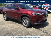 New, 2019 Jeep Cherokee Latitude Plus, White, C19J27-1