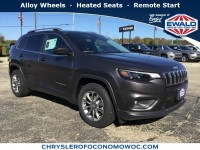 New, 2019 Jeep Cherokee Latitude Plus, Gray, C19J40-1