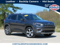 Certified, 2019 Jeep Cherokee Limited, Gray, CN1951-1