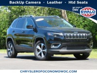 Certified, 2019 Jeep Cherokee Limited, Black, CN1953-1