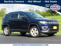 Certified, 2019 Jeep Compass Latitude, Blue, CN1980-1