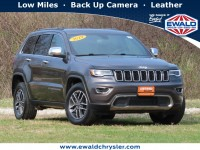 Certified, 2019 Jeep Grand Cherokee Limited 4x4, Gray, CN2106-1