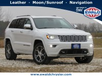 Certified, 2019 Jeep Grand Cherokee Overland, White, C21J14A-1