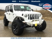 New, 2019 Jeep Wrangler Unlimited Sport S, White, C19J142-1